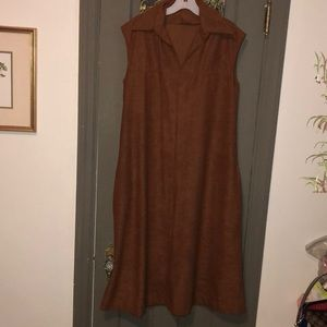 Dresses & Skirts - Brown v neck romper